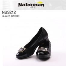 [여성화] NBS212 - 블랙 [기능성신발, 나비신, Nabeesin, 구두]