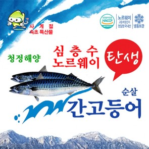 속초 순살 간고등어 [150g * 15 팩 2.5kg]  [고등어, 생선, 그린피쉬]