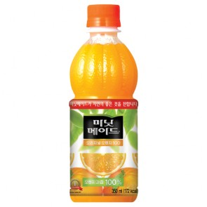 코카] 미닛오렌지350 [미닛오렌지,오렌지쥬스,쥬스,음료]