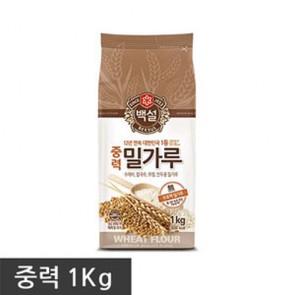 CJ) 중력1등급1kg [밀가루] [중력분]