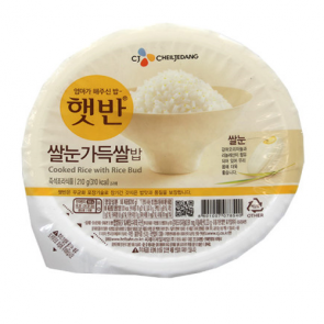 CJ) 둥근쌀눈가득햇반210g [밥] [햇반]