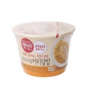 CJ) 햇반옐로우크림커리덮밥280G [밥] [햇반] [조리식품]