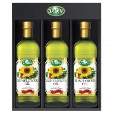 [DiOlio] Sunflower seed oil, 0.5 L set of 3 bottles