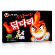 Nongshim) hot charcoal barbecue chicken 66g [sweets] [chicken]
