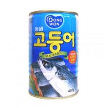 Dongwon) Mackerel 400g [Canned] [Fish] [Side dish]