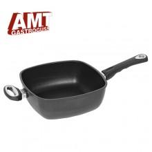 [AMT] Titanium ceramic coating of casting 26cm two-handed 6 square Pan grip Pan (H)