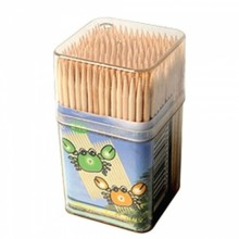 Square double-sided point (toothpick) [miscellaneous goods, toothpick, point, tree]