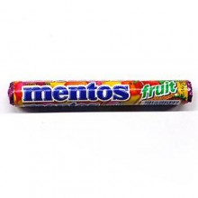 Import) Mentos fruit flavor [gum, candy, snack, snack]